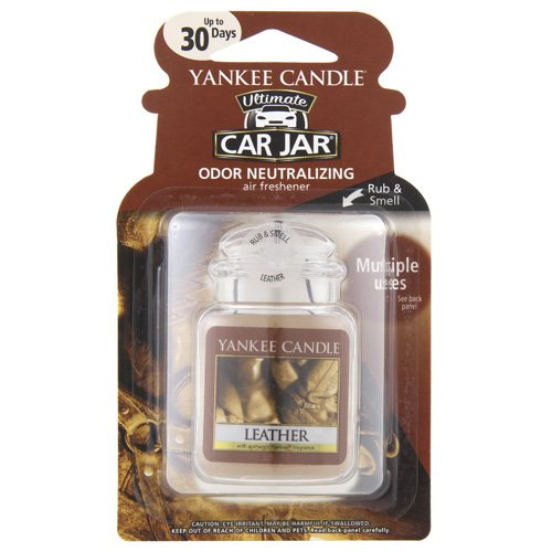car air freshener leather scent - 4