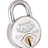 RAMSON Major Deluxe 67Mm 8 Lever Steel Lock (Heavy Duty) With 4 Keys