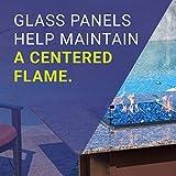 American Fireglass FG-AFPP-18 Tempered Glass Flame