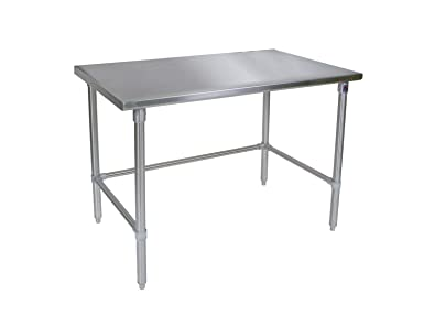 Amazoncom John Boos STSBK Gauge Stainless Steel Work - 16 gauge stainless steel table