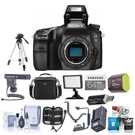Amazon.com: Sony Alpha A68 - Cuerpo de cámara réflex digital ...
