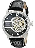 Stuhrling Original Men's Prospero Classic Automatic Skeletonized Black Dial Watch 308.331513