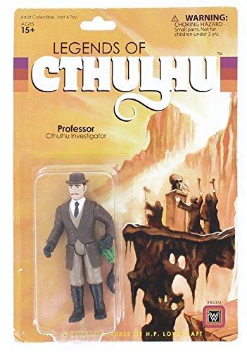Warpo Toys Legends of Cthulhu Professor Retro Action Figure