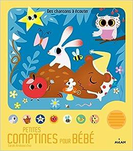 Amazon Fr Petites Comptines Pour Bebe Sarah Andreacchio