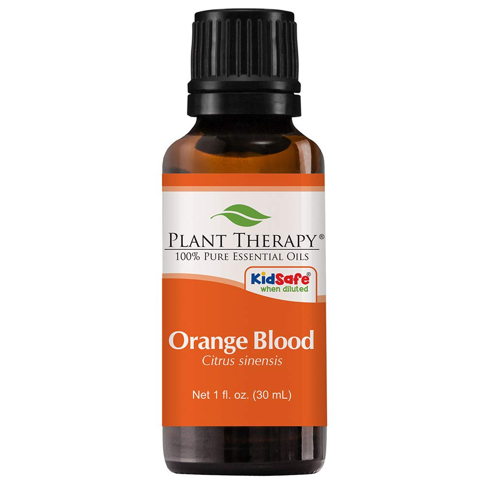 Plant Therapy Orange Blood Essential Oil 30 mL (1 oz) 100% Pure, Undiluted, Therapeutic Grade