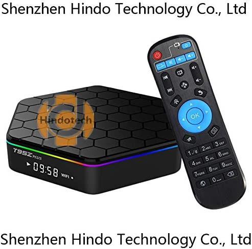 T95Z Plus Amlogic S912 Octa Core Android TV Box Smart Media Player 3GB RAM 32GB ROM 4K HD 2.4G/&5G WiFi BT4.0 Gigabit LAN Android 7.1 Smart TV Box with Remote Control