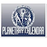 img - for 2017 Planetary Calendar - Wall sized astrology book / textbook / text book