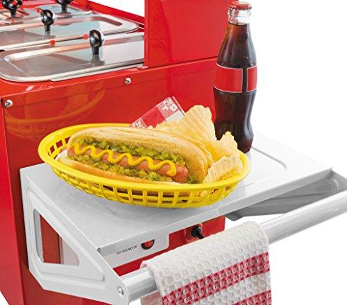 Nostalgia Hdc  Inch Hot Dog Vending Cart