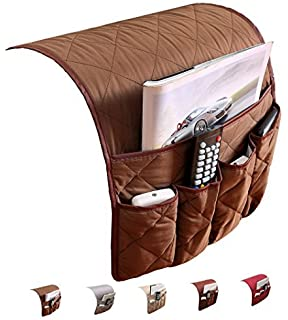 PUTING Space Saver Sofa Couch Chair Armrest Organizer, Fits For Phone,  Book, Magazines