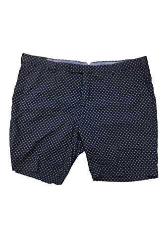 Polo Ralph Lauren Men's All-over Pattern Straight Fit Chino Shorts (42,Shipwheel) (Lauren Patterns China Ralph)