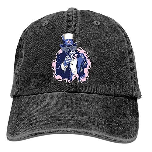 Baseball Cap-Sam I Am Cowboy Hats for Mens Women Dad, Golf Trucker Black Sports Baseball Caps ()