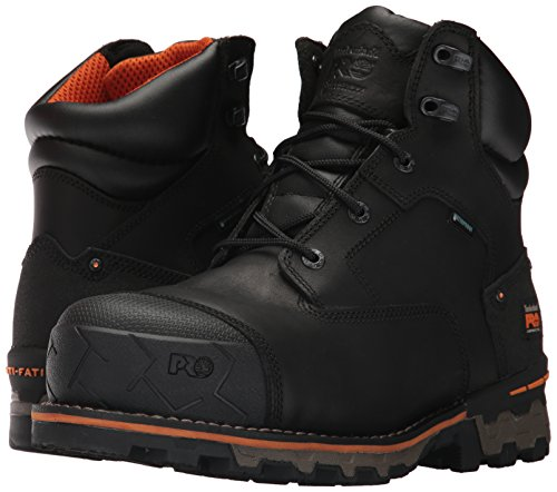 Timberland PRO Men's Boondock 6'' Composite Toe Waterproof Industrial and Construction Shoe, Black Full Grain Leather, 10 M US by Timberland PRO (Image #6)