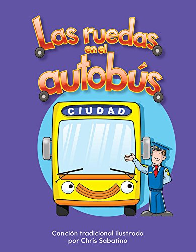 Las ruedas en el autobús (The Wheels on the Bus) Lap Book (Spanish Version) (Literacy, Language, & Learning) (Spanish Edition) by Teacher Created Materials (Image #1)