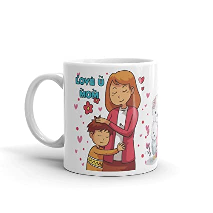 Buy Family Shoping Mothers Day Gifts For Mom Birthday Gifts For Mother Love You Mom Ceramic Coffee Mugs Tea Cup 320ml Online At Low Prices In India Amazon In