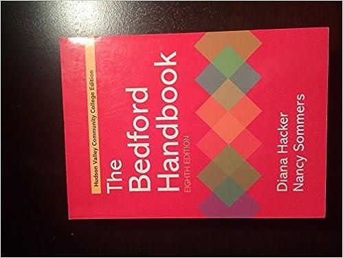 Bedford handbook diana hacker