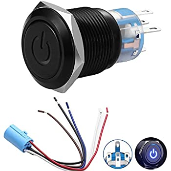 51UTvPnaYUL._SL500_AC_SS350_ amazon com motorcycle switch wiring harness proauto driving light  at soozxer.org