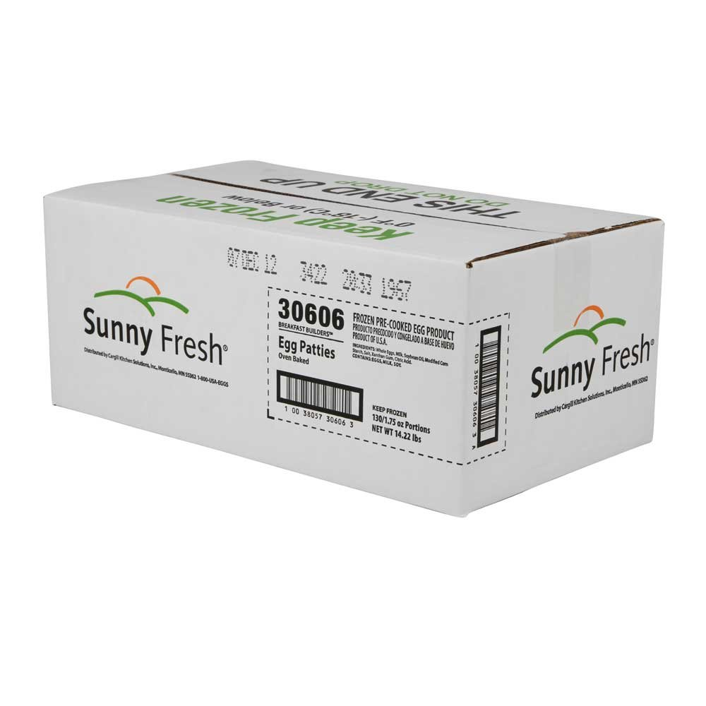 Sunny Fresh Egg Patty Scrambled, 2 Ounce - 100 per case.