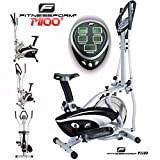 Fitnessform® P1100 Cross Trainer 2-in-1 Fitness Elliptical...