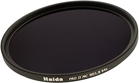 mehrschichtverg/ütet - 86mm Filterdurchmesser 64x Neutral Graufilter ND1.8 Haida PRO II Serie MC