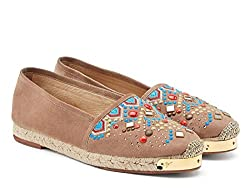 Chamois Leather Espadrilles Shoes