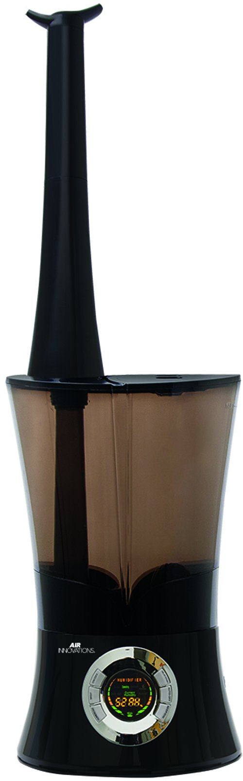 Air Innovations 1.6 Gal. Cool Mist Top Fill Digital Ultrasonic Humidifier -Black