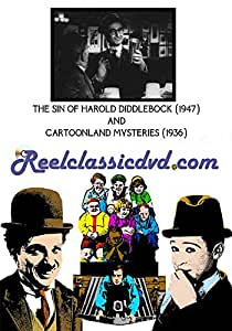 THE SIN OF HAROLD DIDDLEBOCK (1947) and CARTOONLAND MYSTERIES (1936)