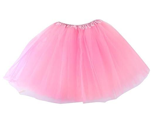 HDMI SM Tutu Falda para Mujer y niña. Falda para Ballet Color Rosa ...
