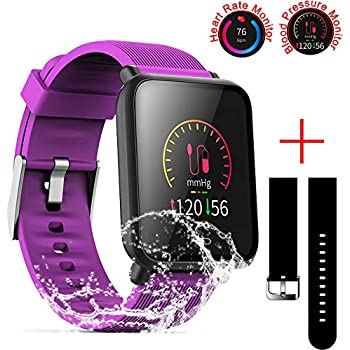 Amazon.com: FITVII Smart Watch, Fitness Tracker with ...