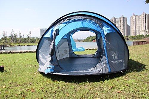 star home camping zelt pop up zelt 3 4 person. Black Bedroom Furniture Sets. Home Design Ideas