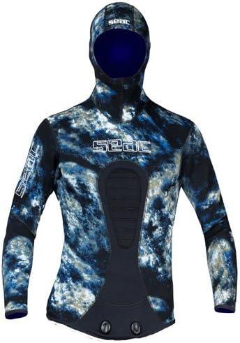 シーク無呼吸ウェットスーツジャケットKOBRA MAN OCEAN 3.5 MM XL