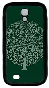 Cool Painting Samsung Galaxy I9500 Cases & Covers -Minimalist simple background trees PC Rubber Soft Case Back Cover for Samsung Galaxy S4/I9500