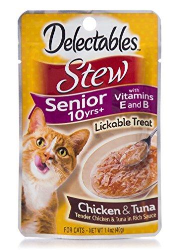 Delectables Senior Stew Lickable