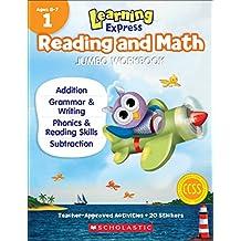 Learning Express Reading and Math Jumbo Workbook Grade 1