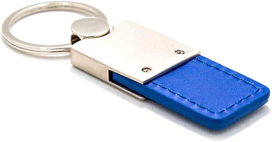 Mazda 6 Blue Leather Key Ring