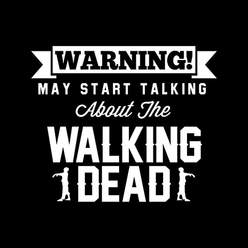 Coto7 Talking Hooded Dead Walking Warning Sweatshirt May Women's Start About Black twP7rtyO6q