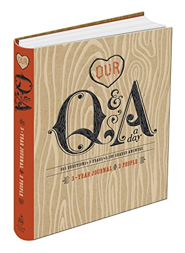 - Our Q&A a Day: 3-Year Journal for 2 People