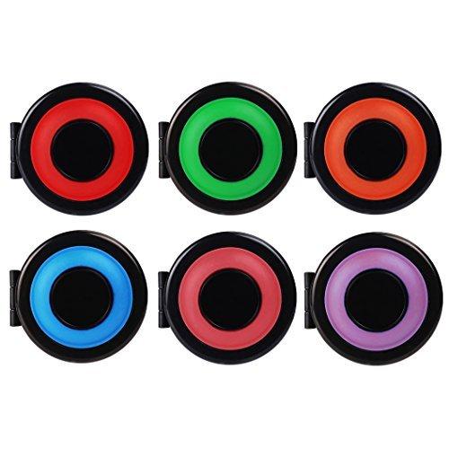 SAVFY 6 Color Hair Chalk Set, Metallic Glitter Temporary Hair Color