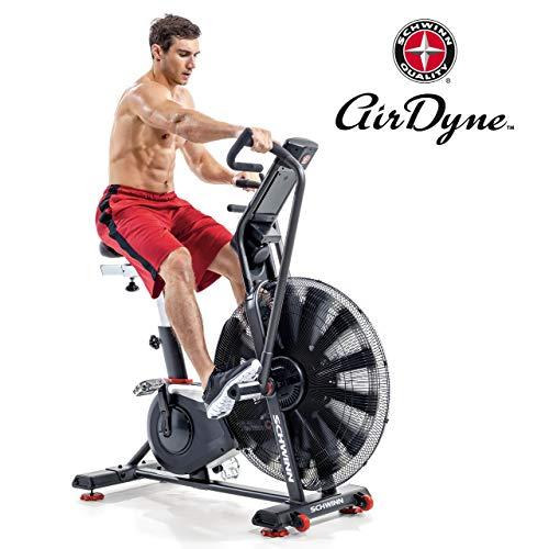 🥇 Schwinn – Bicicleta Estática y Spinning  Airdyne AD8-AIR Bike Pro-Cardio-Training / Crossfit
