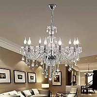 globalbuy 10 Lámparas Araña de cristal para el hogar Techo de cristal Luz para el hogar…