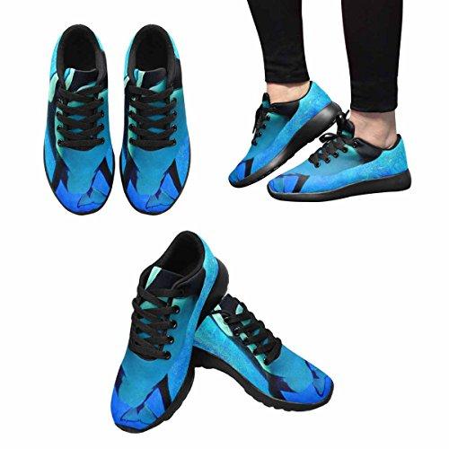InterestPrint Womens Jogging Running Sneaker Lightweight Go Easy Walking Comfort Sports Running Shoes Multi 11 pPOWva
