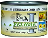 Felidae Canned Cat Food for Adult Cats and Kittens, Formula with Chicken, Turkey, Lamb and Ocean Fish (Pack of 12 5.5 Ounce Cans), My Pet Supplies