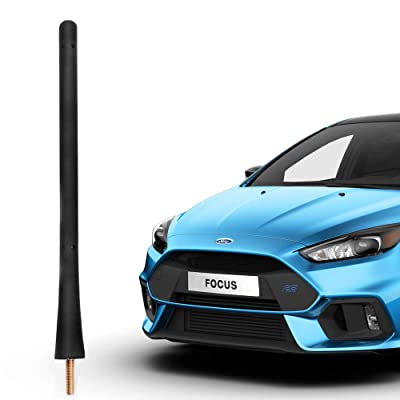 Flexible Radio Antenna Compatible with 2000 to 2020 Ford Focus 2000 to 2020 Fiesta Transit Taurus 1998 to 2020 Ranger: Car Electronics