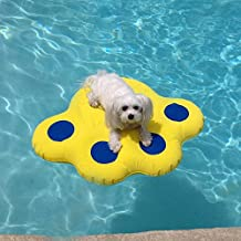 Paws Aboard Dog Pool Float (Small: 25.5 x 29) by Doggy Lazy Raft