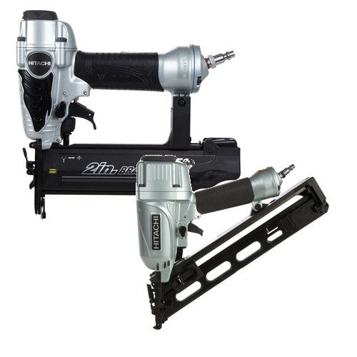 Hitachi KNT65-50 2-Piece Angled Finish Nailer & Brad Nailer Combo Kit
