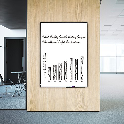 whiteboard for home office. Lockways Magnetic Whiteboard White Board - Dry Erase 48 X 36, 3 For Home Office