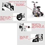 WLY Electric Three-Wheel Folding Bicycle Adult