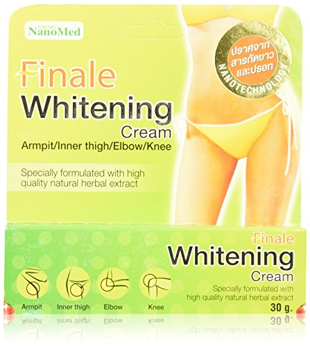 Finale Skin Whitening Cream for Bikini Line Armpits Thighs Elbows Knees 30 grams (Lightening Reviews Cream Skin)