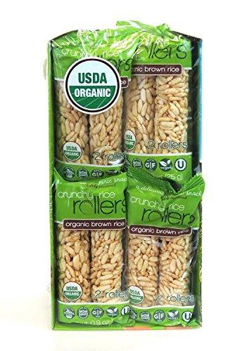 Cake Rice Brown (Bamboo Lane Organic Brown Rich Crunchy Rice Rollers 16- 2 Packs)