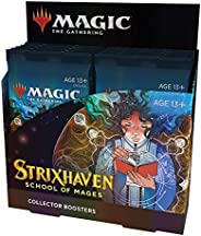 Magic The Gathering Strixhaven Collector Booster Box | 12 Packs (180 Magic Cards)