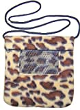 Rodent or Sugar Glider Carry Bonding Pouch with Window Cheetah